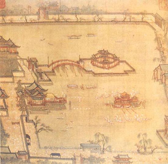"""综数我国古代绘画,多有那种士大夫的孤芳自赏,实难找到类似""""清明上河"""